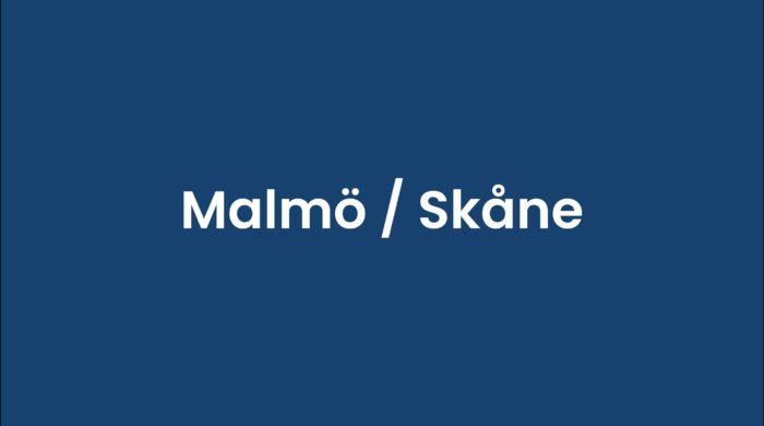 Malmö : Skåne